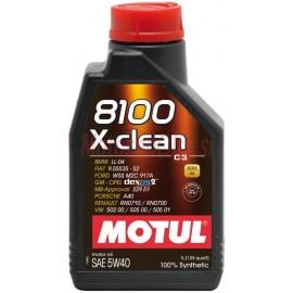 MOTUL 8100 X-clean C3 5W-40 - 1L