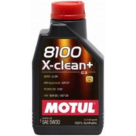 MOTUL 8100 X-clean+ 5W-30 - 1L