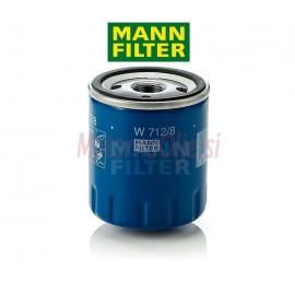 Filter olja MANN W712/8